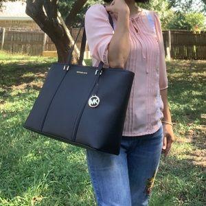 MICHAEL Michael Kors Bags - Michael Kors Sady Large Top Zip Tote